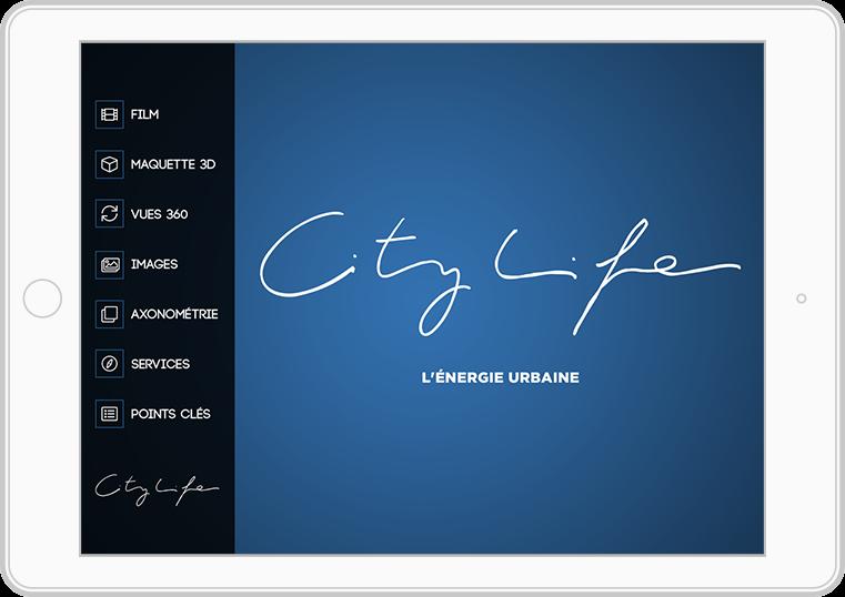citylife ipad1 - CityLife