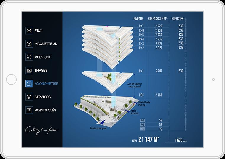 citylife ipad2 - CityLife