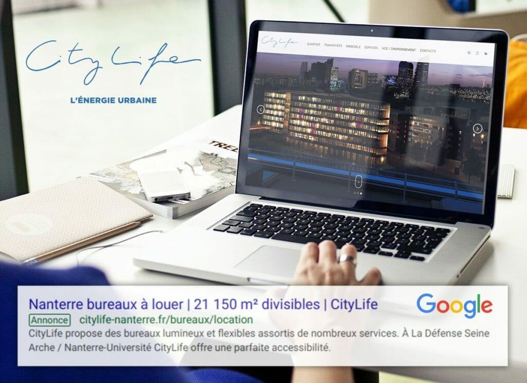 citylife nl 131118 1024x744 - Adwords (google) au service de la commercialisation de citylife  Exemplaire
