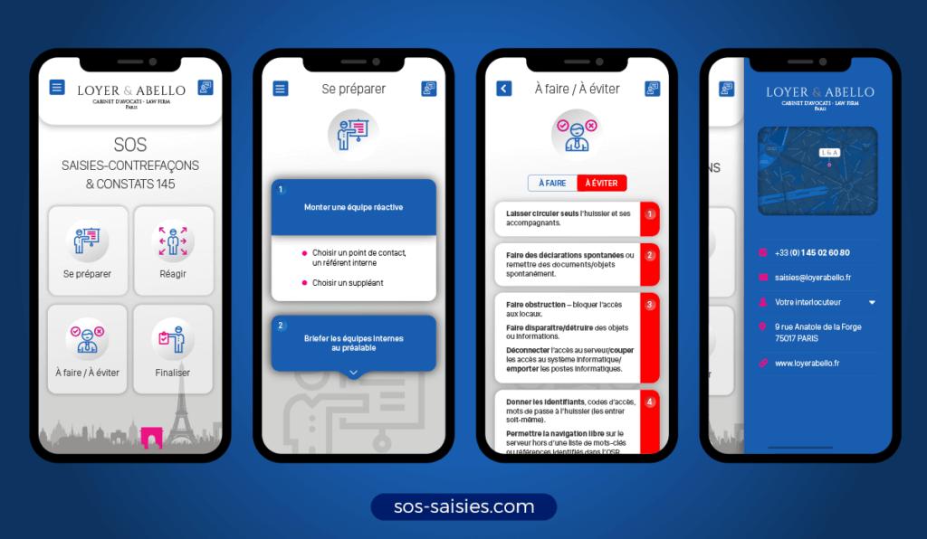 loyerabello appli screenshots 1024x596 - Loyer & Abello intègre la LegalTech avec une web app innovante