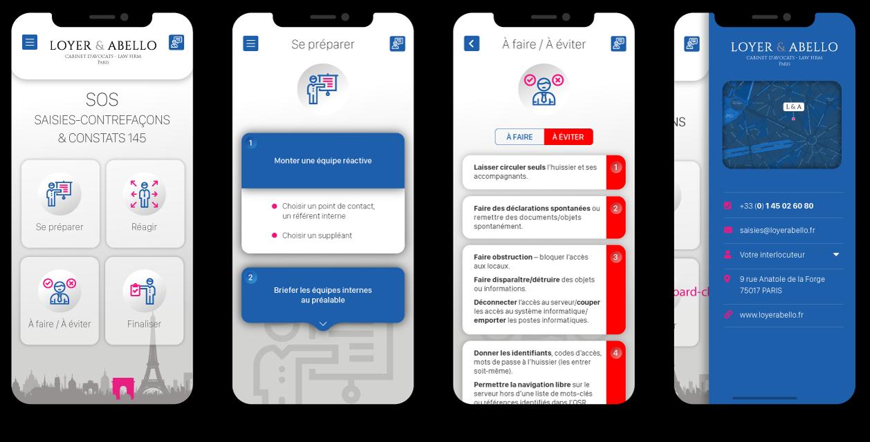 loyerabello appli screenshots - Loyer & Abello