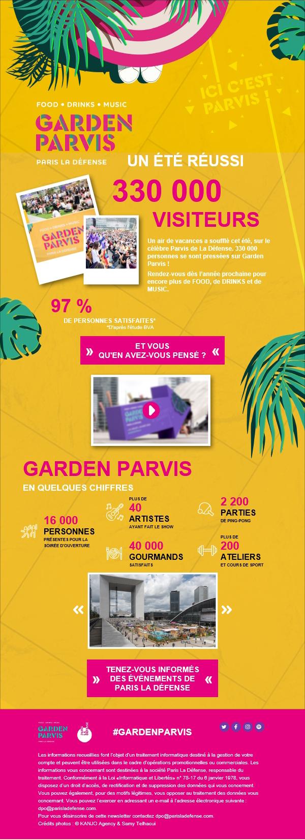 garden parvis outlook - Solution d'envoi d'emails