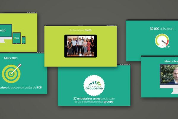 groupama video ecd actu 600x403 - Clip final pour une transformation digitale !