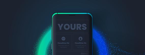 yours2 - Yours, l'application qui vous est dédiée…